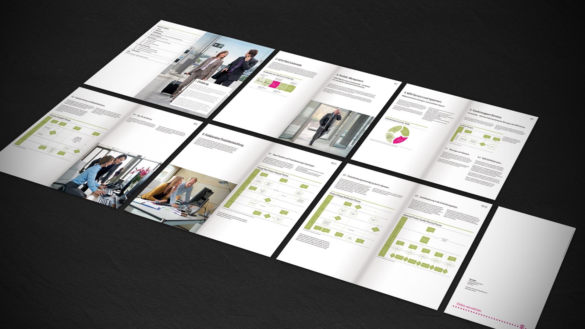 Deutsche Telekom Broschüre M2M SIM | 4c marketing