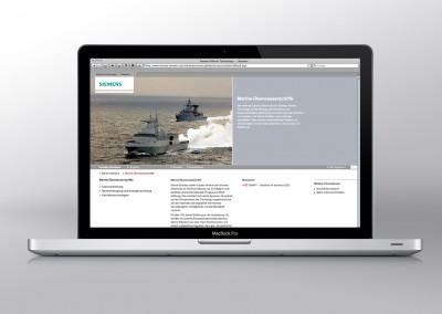 Siemens – Website und Touch-App