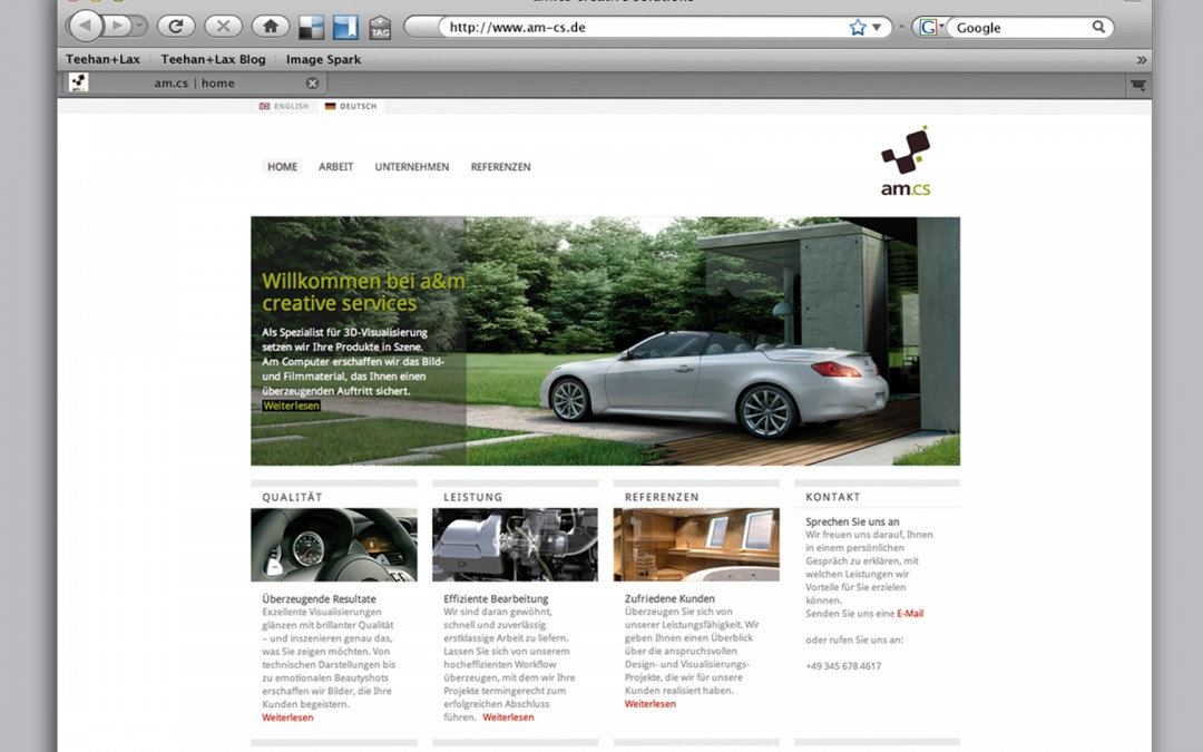 amcs – Website